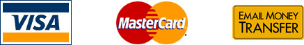 Visa - MasterCard - Email Money Transfer